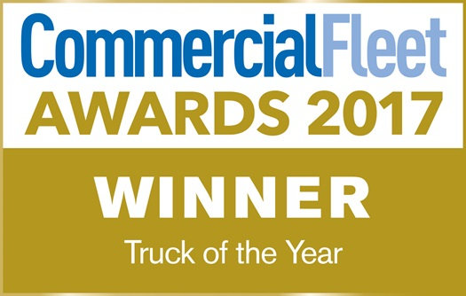 DAF Commercial fleet truck of the year 2017